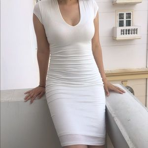 White dress, soft material